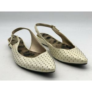 Sam Edelman Women's Dahlia Cream  Studded Flats